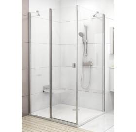 Стенка для душевой кабинки Ravak CHROME CPS - 90 Transparent, полированный алюминий, стекло, 9QV70C0