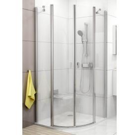 Душевая штора Ravak CHROME CSKK 4 - 90 Transparent, белый профиль, безопасное стекло, 3Q170100Z1