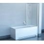 Шторка для ванны Ravak CVS1 - 80 R TRANSPARENT профиль полированный алюминий, 7QR40C00Z1