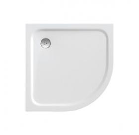 Поддон для душевых кабин Ravak GALAXY ELIPSO Pro 90 Chrome, полукруглый, литой мрамор, XA247701010