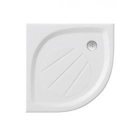 Поддон для душевых кабин Ravak GALAXY ELIPSO Pro 90 Flat, полукруглый, литой мрамор, XA237711010