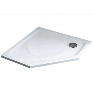 Поддон для душевых кабин Ravak GENTA 90 PRO, пятиугольный, литой мрамор, XA337701010