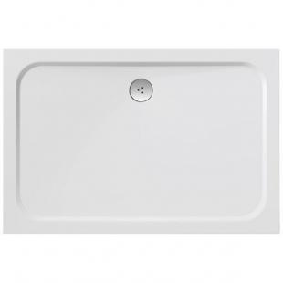 Поддон для душевых кабин Ravak GIGANT PRO Chrome 80x120, прямоугольный, литой мрамор, XA04G401010