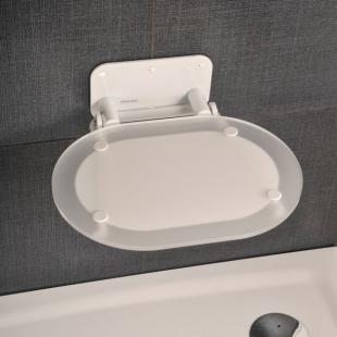 Сиденье для душа Ravak OVO CHROME CLEAR/WHITE, B8F0000028