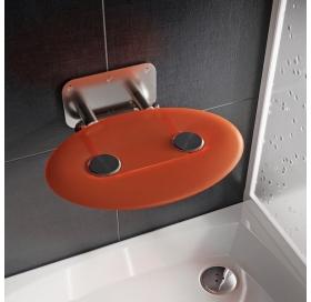 Сиденье для душа Ravak OVO P II, полупрозрачный оранжевый, B8F0000050
