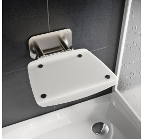 Сиденье для душа Ravak OVO B II, прозрачный/черный, B8F0000059