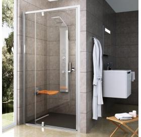 Душевые двери Ravak PIVOT PDOP 2 - 110 Transparent,полированый алюминий,безопасное стекло, 03GD0C00Z