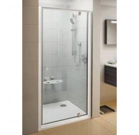 Душевые двери Ravak PIVOT PDOP 1 - 80 Transparent, полированый алюминий, безопасное стекло, 03G40C00