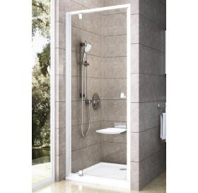 Душевые двери Ravak PIVOT PDOP 1 - 90 Transparent, белый профиль, безопасное стекло, 03G70100Z1