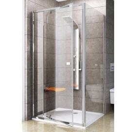 Стенка для душевой кабинки Ravak PIVOT PPS-90 Transparent, профиль сатин, стекло, 90G70U00Z1