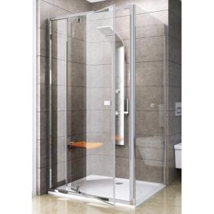 Стенка для душевой кабинки Ravak PIVOT PPS-100 Transparent, профиль полированный алюминий, 90GA0C00Z