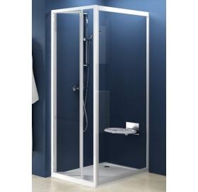 Стенка для душевой кабинки Ravak SUPERNOVA PSS-90 Transparent, белый профиль, стекло, 94070100Z1