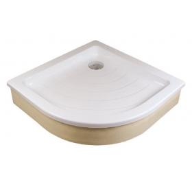 Поддон для душевых кабин Ravak RONDA 80 EX, полукруглый, акрил, A204001320
