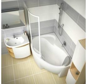 Тумба для раковины Ravak SDU ROSA Comfort, 78 см, белая, правая, X000000329
