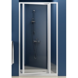 Душевые двери Ravak SUPERNOVA SDOP - 90 Pearl, белый профиль, пластик, 03V7010011