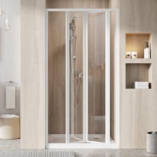 Душевые двери Ravak SUPERNOVA SDZ 3 - 80 Transparent, стекло, 02V40100Z1