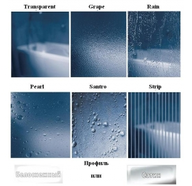 Душевые двери Ravak SUPERNOVA ASDP 3 - 80 Grape, белый профиль, безопасное стекло, 00V40102ZG