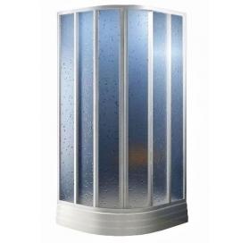 Душевая штора Ravak SUPERNOVA SKKP6 - 80 Pearl, пластик, полукруглая, 3204010011
