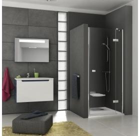 Душевые двери Ravak SMARTLINE SMSD 2 - 100 A-R Transparent, безопасное стекло, хром, 0SPAAA00Z1