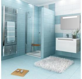 Душевые двери Ravak SMARTLINE SMSD 2 - 120 B-R Transparent, безопасное стекло, хром, 0SPGBA00Z1