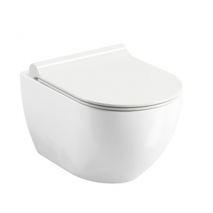 Чаша подвесного унитаза безободковая Ravak Uni Chrome, без сидения, X01535