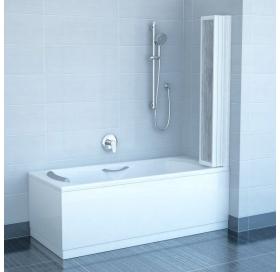 Шторка для ванны Ravak VS5 RAIN белый профиль, 794E010041