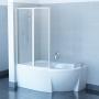 Шторка для ванны Ravak VSK2 ROSA II - 170 L Transparent, 76LB0100Z1