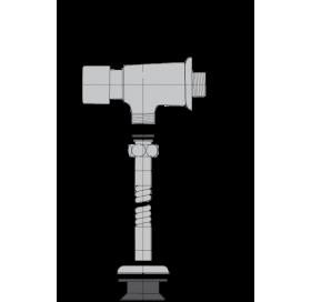 Кран для писсуара Alca plast ATS001 нажимной, хром