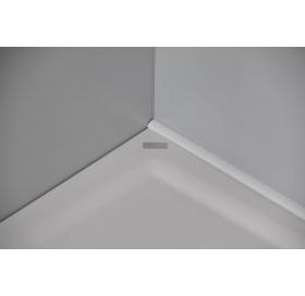 Декоративная планка для ванны 10 мм / 2 м, белая