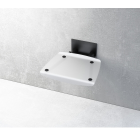 Сиденье для душа Ravak OVO-B, белый/черный, B8F0000046