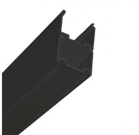 Регулирующий профиль Ravak PNPS для душевых штор/кабин, черный, E778801319000