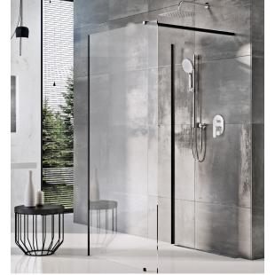 Стенка для душа Ravak WALK-IN CORNER - 110 x 80, черный безопасное стекло, GW1CD4300Z1