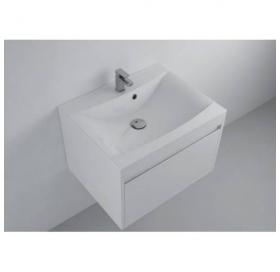 Мебельная раковина 2BI Julia 60x48x14 белая, прямоугольная, 2.bi.0000.6045.0