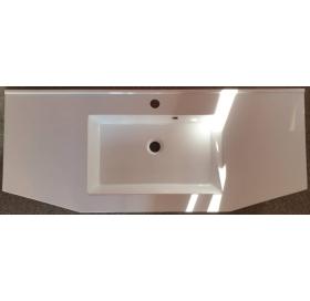 Умывальник мебельный 2BI Santo 110, белый, прямоугольный, 2.bi.11000.00