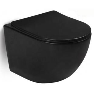 Rostriks Dos Corta подвесной укороченный унитаз безободковый с сидением дюропласт soft-close