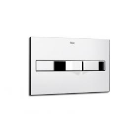Кнопка смыва Roca IN-WALL двойная PL2, хром