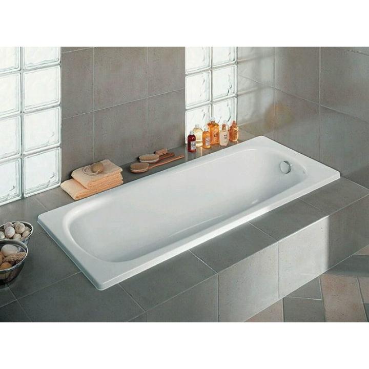 Ванна чугунная Roca CONTINENTAL 160 x 70 без ножек (21291200R)/212912001