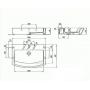 Раковина подвесная / накладная Roca HALL 65 см с отверстием