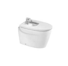 Сиденье для биде Roca KHROMA, duroplast, soft-close, белое