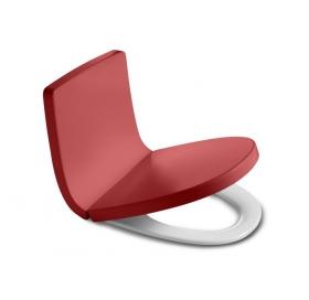 Сиденье для унитаза Roca KHROMA, duroplast, soft-close, красное