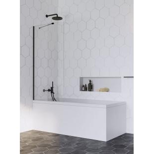 Шторка для ванны RADAWAY Idea Black PNJ 50,  10001050-54-01