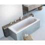 Ванна акриловая RADAWAY NEA 150x70 (WA1-02-150x070U) + ножки (NWA-62) + сифон R135L
