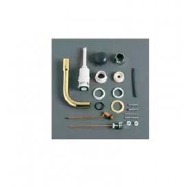 Механизм слива для среднего бачка с латунной трубой Simas Arcade хром, D11