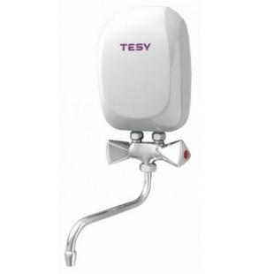 Водонагреватель электрический проточный TESY со смесителем 5,0 кВт (IWH 50 X02 KI)
