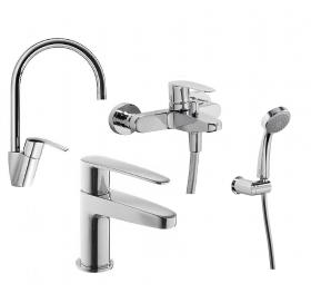 Набор смесителей для ванны TRES Flat-Tres, 202016