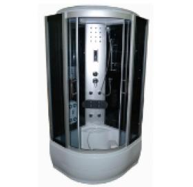 Гидробокс с электроникой на глубоком  поддоне 90x90 см, VE90x90