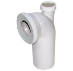 Отвод угловой 90 градусов VIEGA, с дополнительным выходом, диаметр 50 мм, пласти..