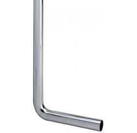 Отводное колено для раковины VIEGA, 90 градусов, 32x220x750, хром