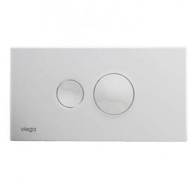 Кнопка сливная VIEGA Visign 10, белый alpin