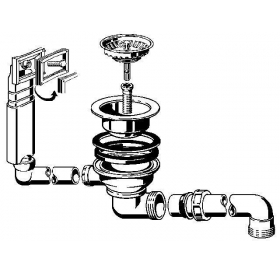 Комплект сливного клапана VIEGA